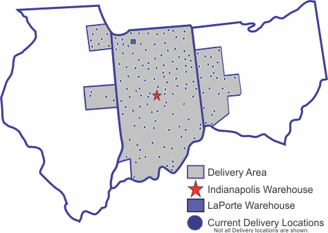dELIVERY aREA MAP with cities 11-2-16.